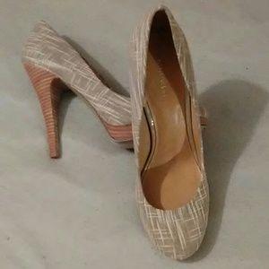 Nine West Tweed heels